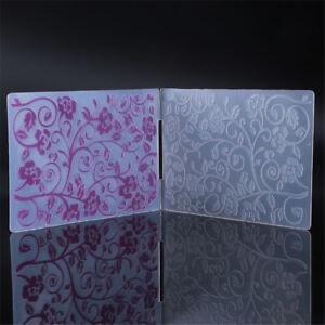 Image Is Loading Flower Vine Cutting Dies Plastic Embossing Paper Craft