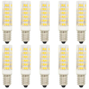 10X-E14-Dimmbar-LED-Lampe-Birne-Leuchtmittel-3000K-Warmweiss-7W-mit-76-SMD-2835