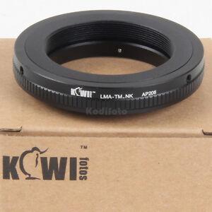 Kiwifotos-Adaptador-Objetivos-Lentes-T-y-T2-en-camaras-Reflexs-Nikon
