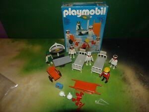 Playmobil-3490-Vintage-Playmobil-System-Krankenzimmer