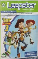Leapfrog Leapster Toy Story 3 Learning Cartridge Game Free Shipping