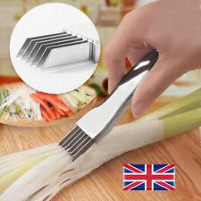 Stainless Steel Scallion Spring Onion Vegetable Shredder Slicer Cutter Gadget UK
