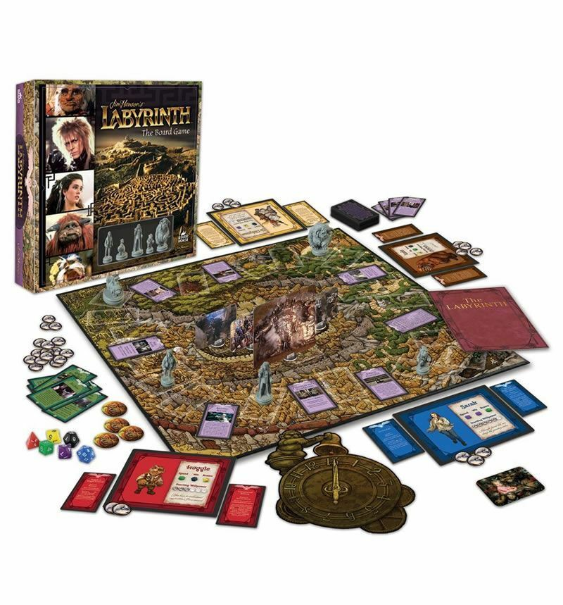 LABYRINTH THE BOARD GAME 1 TO 5 PLAYERS