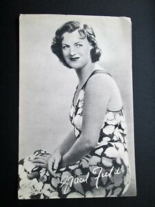 Details about GRACIE FIELDS, ACTRESS, SINGER, COMEDIENNE - UNKNOWN  PUBLISHER (1930s)