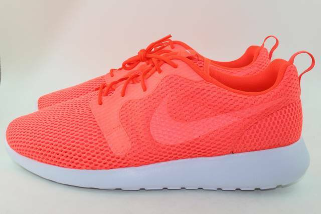 NIKE ROSHE ONE HYPERFUSE BR hommes Size: 13.0 NEW CRIMSON RARE AUTHENTIC COMFORT
