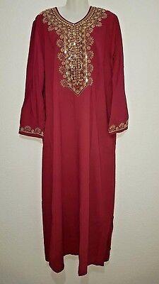 Abaya Maxikleid arabisches Kleid Dschellaba Jellabiya Jellaba Abendkleid EID