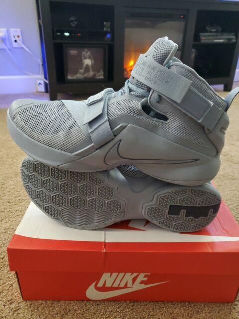 innovative design 1b232 2b79c Nike Zoom Lebron Soldier IX 9 PRM Gray/blue RARE James PE