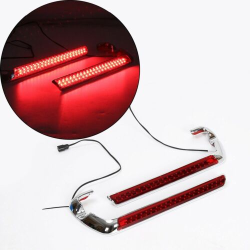 Plug N Play Red Saddlebag LED Side Marker Light for Harley Touring 2014-2018