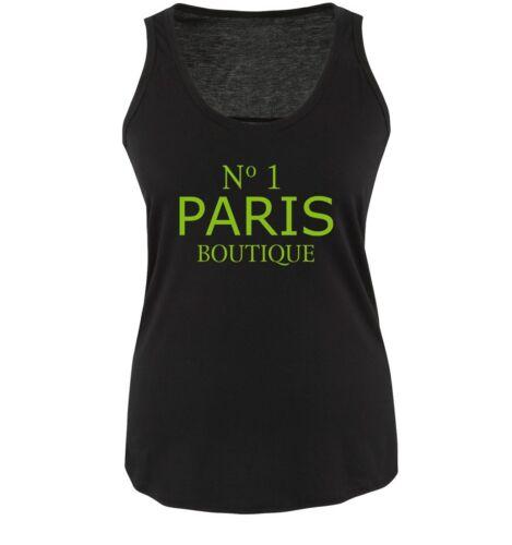 Damen Tank TopNEW COOL TREND No1 PARIS BOUTIQUE Comedy Shirts