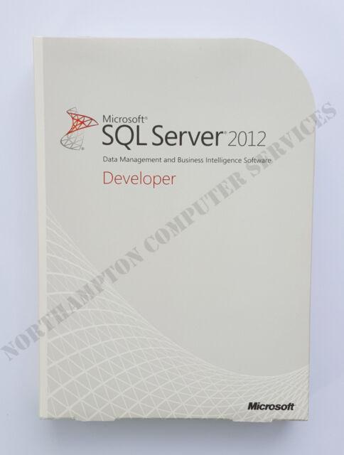 NUOVO Microsoft SQL Server 2012 Developer Edition OEM E32-00970 - IVA