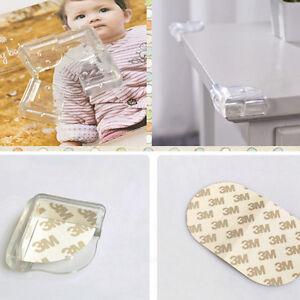 4 eckenschutz l form baby kinder sicherheit glastisch tisch kantenschutz ebay. Black Bedroom Furniture Sets. Home Design Ideas