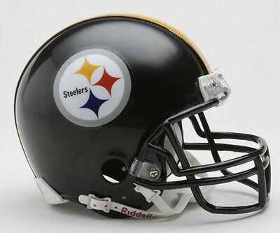 PITTSBURGH STEELERS NFL Football Helmet BIRTHDAY WEDDING CAKE TOPPER DECORATION