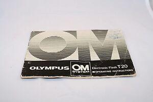 Foto en camera Handleidingen en gidsen Olympus T20 Flash User ...