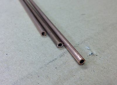 "3x12"" Long Live Steam Good Taste Helpful 5/32 Copper Tube 22g 0.7mm Wall"