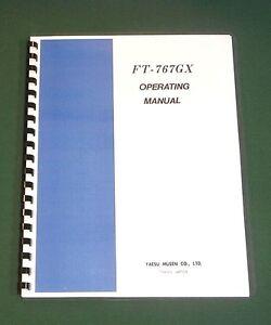 Yaesu FT-817 Operating Manual Premium Card Stock Covers /& 32 LB Paper!