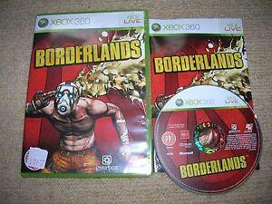 BORDERLANDS-Rare-XBOX-360-Game