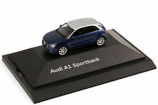 1:87 HERPA 2012 AUDI A1 Sportback Scuba blue RARE DEALER PROMO - In Stock