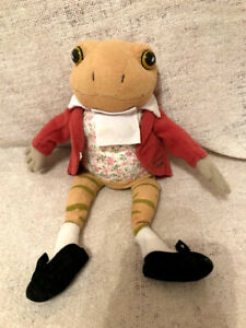 """Ty Beanie The Tale Of Mr Jeremy Fisher 9"""" 2006 No Tag  Soft Toy"""