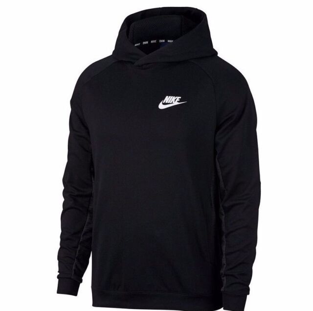 01823c863041 Nike NSW Advance 15 Hoodie - LARGE - 861738-010 Pullover Hoody Gray White  Grey