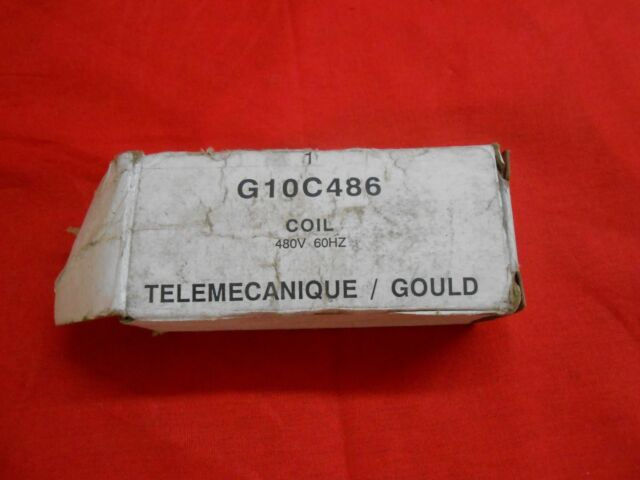 Telemecanique Starter Coil G10C486  480vac       NEW IN BOX