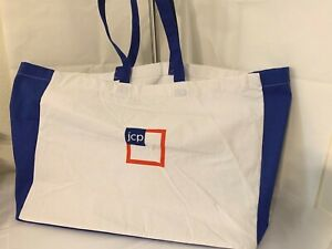 JC-PENNEY-JCP-REUSABLE-LOGO-LARGE-CANVAS-SHOPPING-TOTE-NWOT