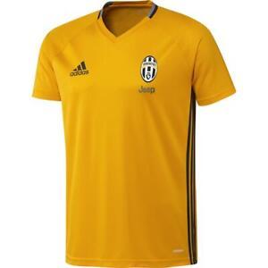 Adidas Men S Juventus Training Jersey Shirt Yellow Serie A Football Soccer New Ebay