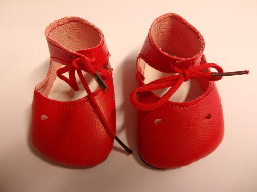 adapté F taille 34 Poupées Chaussures schildkröt rouge