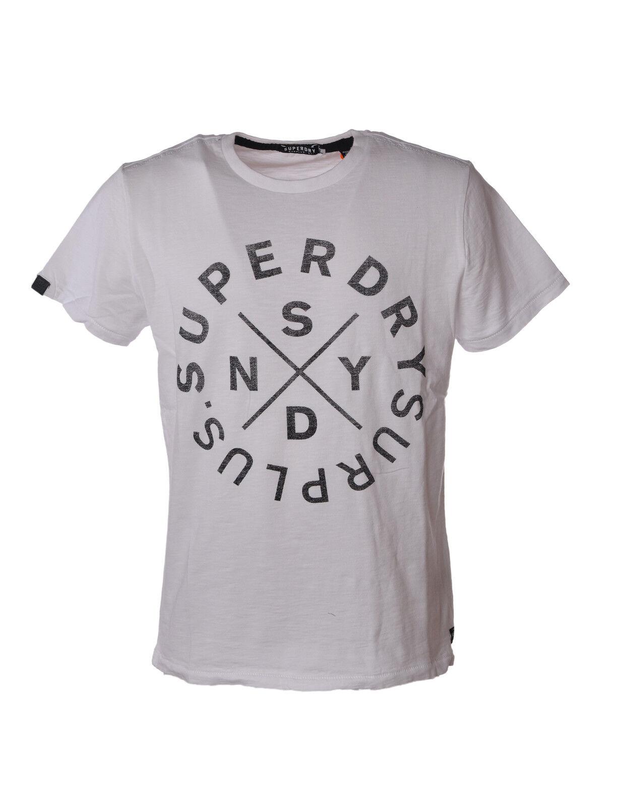 Superdry - Topwear-T-shirts - Man - Weiß - 3488410D190627
