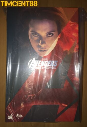 Hot Toys MMS288 Avengers 2 Age of Ultron Black Widow AOU Scarlett Johanssan