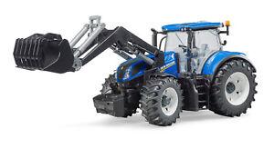 Bruder traktor new holland t abnehmbare räder