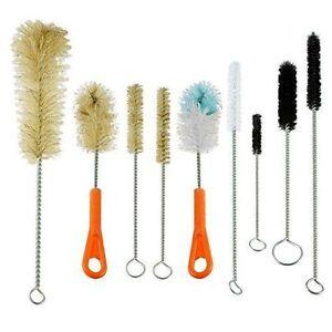 Ultimate-Kitchen-Lab-Tube-Glass-amp-Baby-Bottle-Brush-Cleaning-Set-of-9-brushes