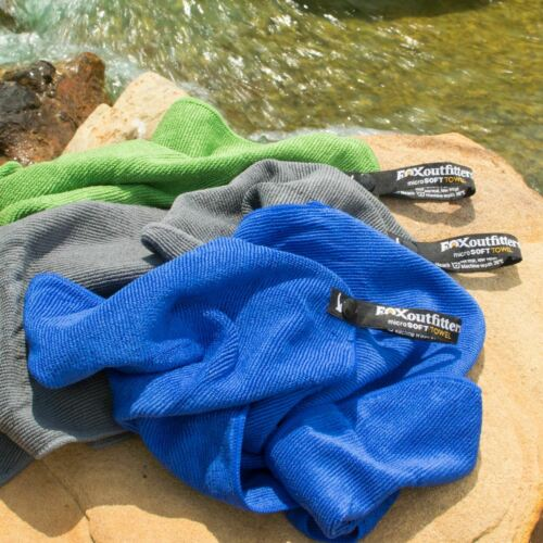 Fox Outfitters MicroSoft Towel for Camping Swimming /& Travel New Hiking
