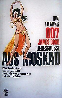 1966 + 007 James Bond LiebesgrÜsse Aus Moskau Phoenix Ian Fleming