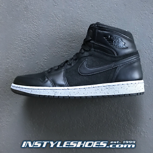 6f9869eb9ab Nike Air Jordan 1 Hi 23NY Retro Retro Retro Sz 10 DS Black Dark Grey ...