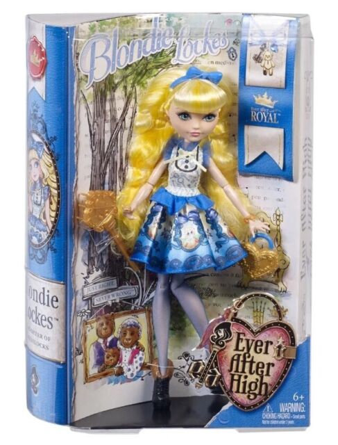 Bnib Ever After High Blondie Lockes Doll New Nib Original