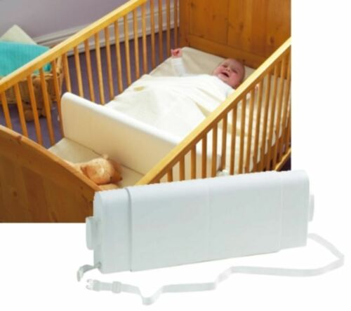Sleep Positioner for Cots /& Cot Beds Safababy Safer Baby Sleeper White