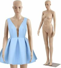 Female Mannequin Plastic Detachable Mannequin Stand Torso Dress Form Full Body