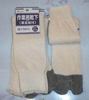 10x Pair Men Boot Slipper Geta Tabi Long Sock S-2778x10