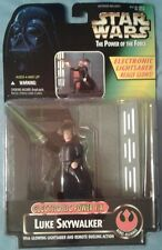 Star Wars POTF Luke Skywalker Electronic Power F/X w/ glowing lightsaber, Hasbro
