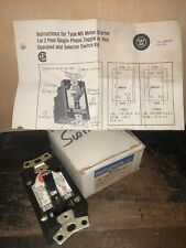 Nos Westinghouse Mst01 Manual Motor Starter Toggle Switch 1hp 230 Vac