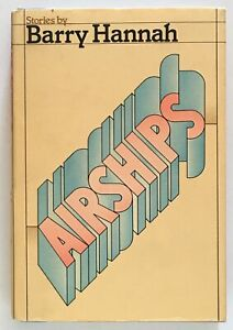 Barry-Hannah-Airships-FIRST-EDITION