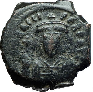 HERACLIUS-610AD-Constantinople-Follis-Authentic-Ancient-Byzantine-Coin-i66080