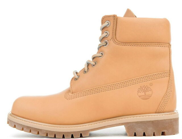 2d34c5d15885 Timberland Men Boot 6 Inch Classic Premium A1JJB Natural Horween Latigo  Leather
