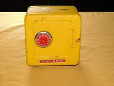 VINTAGE TURBINE FED CREDIT UNION SCHENECTADY NY SUPERIOR METAL FT KNOX  TOY BANK