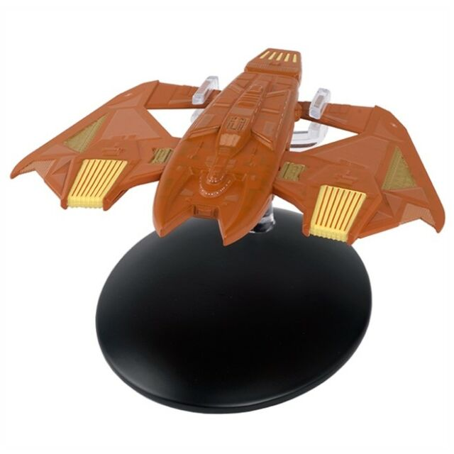 Star Trek Vidiian Warship Model with Magazine #103 by Eaglemoss