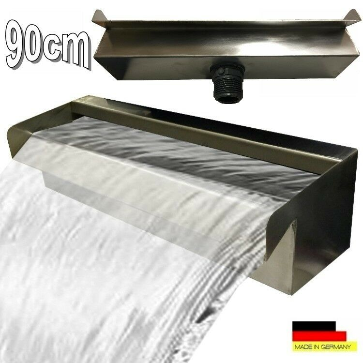 Waterfall 90 cm Stainless Steel Waterfall Water Feature Cascade v2a