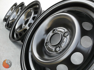 NEU 4x Stahlfelgen für Opel Corsa D Corsa D Van Corsa E Van 6x15 ET39 4x100 56,5
