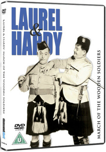 Laurel and Hardy: March of the Wooden Soldiers DVD (2012) Oliver Hardy
