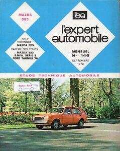 Revue-Technique-Automobile-Mazda-323-N-146-Septembre-1978-142-pages