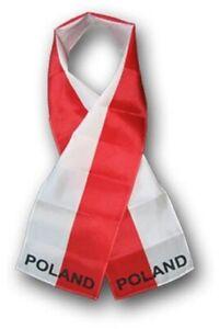 POLAND-FLAG-SCARF-LIGHTWEIGHT-POLYESTER-8-034-x-60-034-NEW-SCARF-SHAWL-WRAP